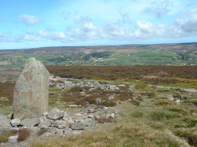 Standing Stone on Ainthorpe Rigg
