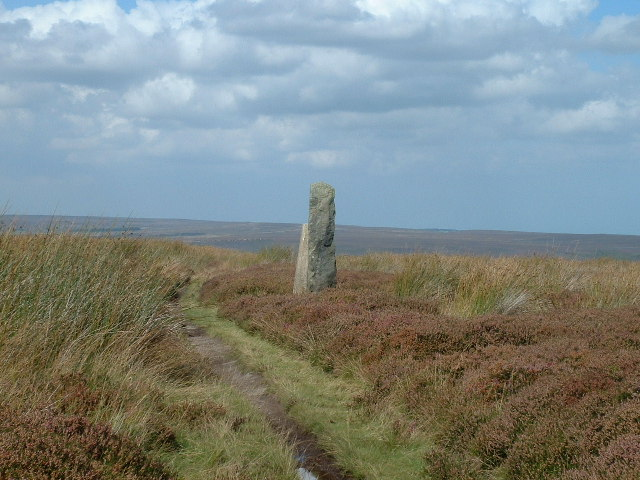 Trig Point & Standing stone Ainthorpe Rigg