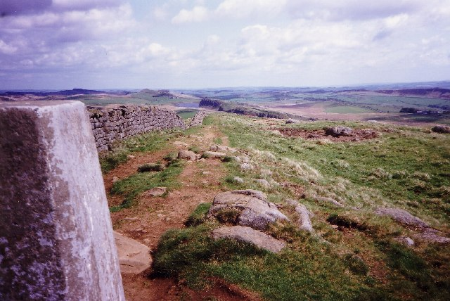 Winshields Crags     Hadrian's Wall