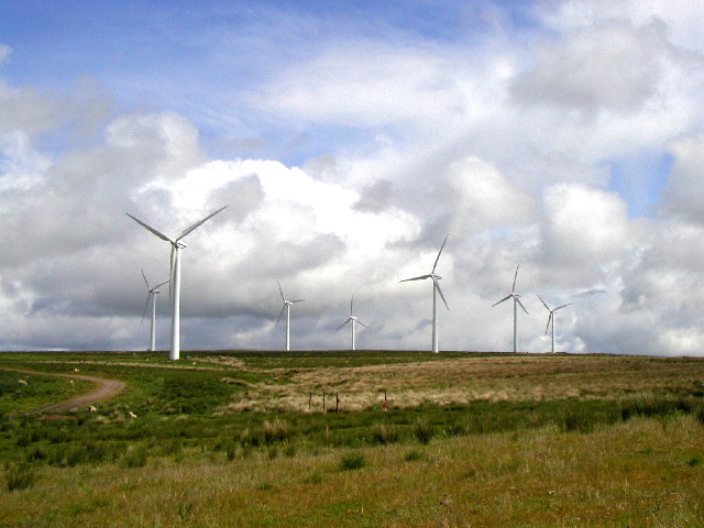 Windfarm near the A68