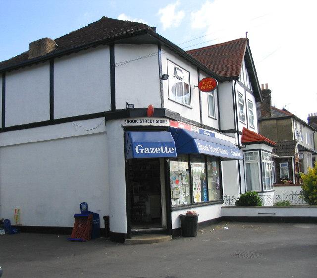 Brook Street sub-Post Office, Brentwood, Essex