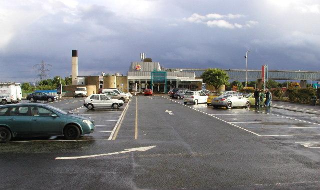 Washington Birtley Service Station