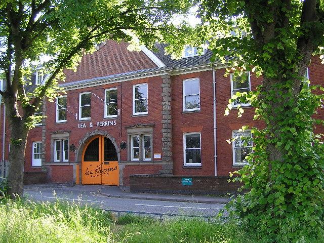 Lea & Perrins factory,  Worcester