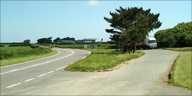Taylors Farm and Layby near Kilkhampton