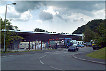 SX5157 : Travellers on Parkway Industrial Estate by Mike Crowe