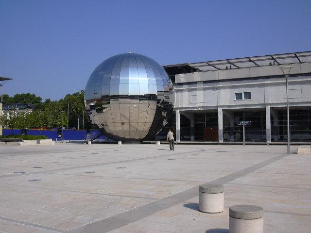 Millennium Square, at Bristol