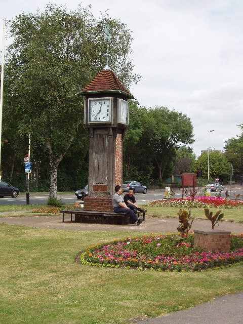 Coronation Clock On Northolt Village David Hawgood Cc