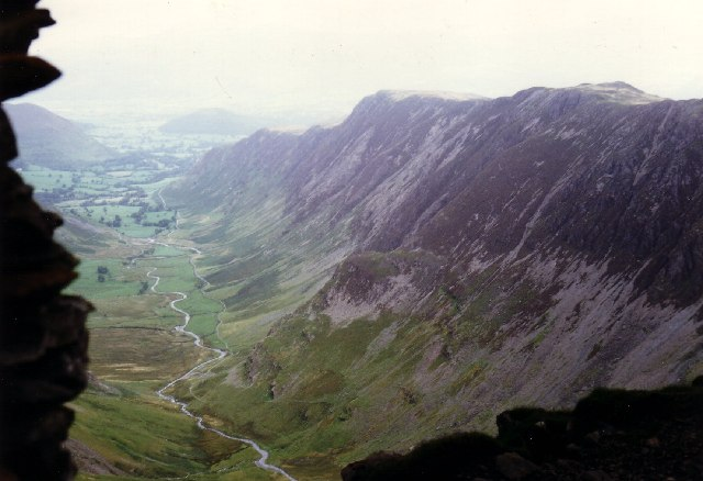 Newlands Valley from the Dalehead cairn