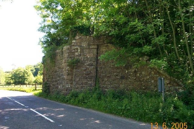 Railway bridge near Moretonhampstead