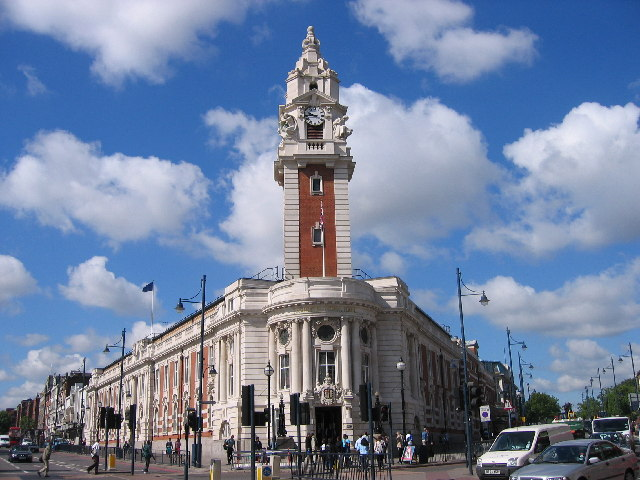 Brixton Town Hall, London