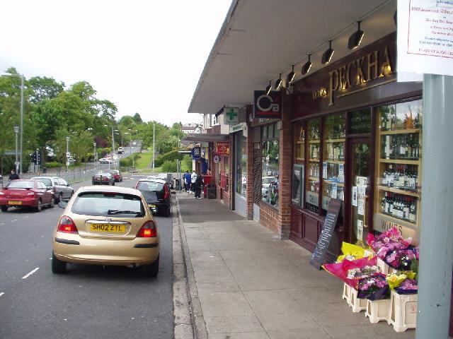 Broom Shops, Newton Mearns