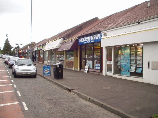 Ayr Road shops, Newton Mearns