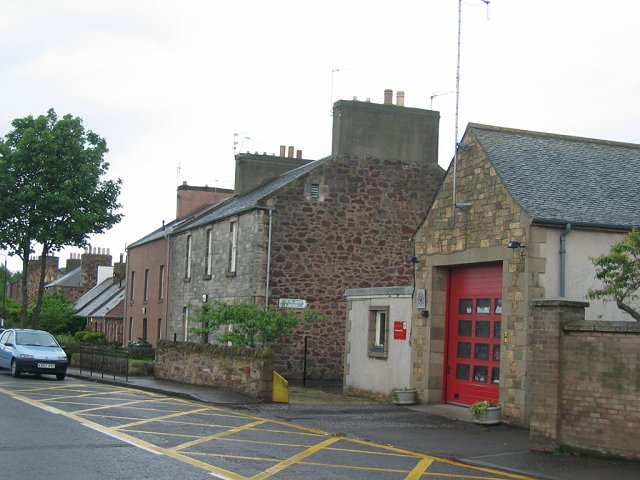 East Linton fire station