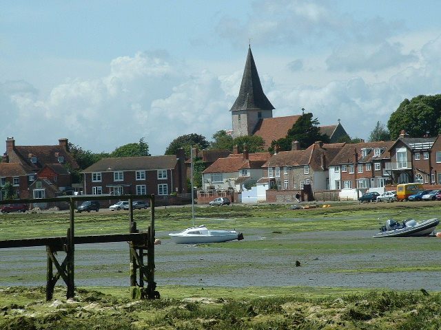 Bosham village from the South