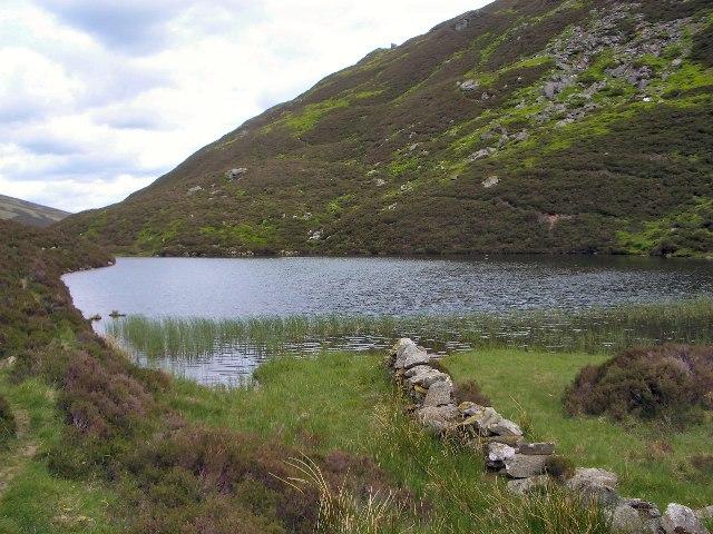 Upper lochan, Glen Lochan
