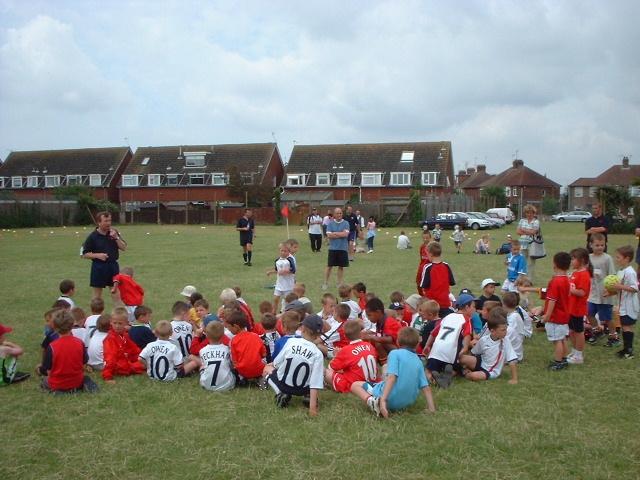 Salvington School playing fields