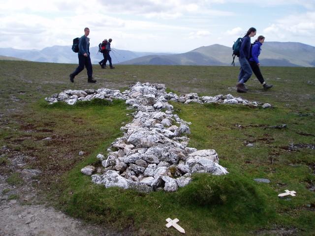 The White Cross on Blencathra