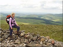 NT8515 : Reaching the Top of Windy Gyle by Christine Westerback