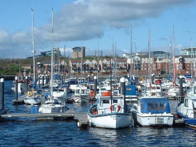 Marina at the Royal Quays