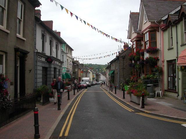 Llandysul, Wales.