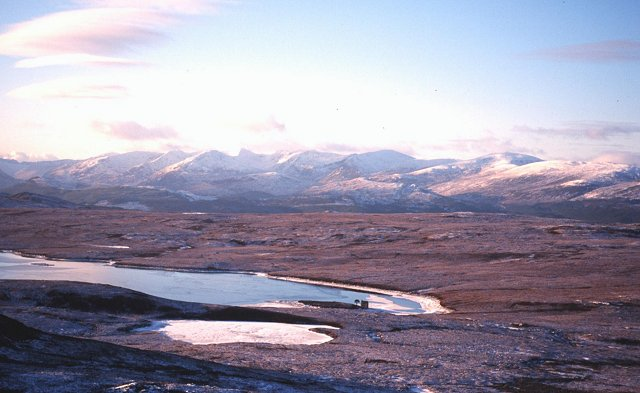Slopes of Meall a'Chràthaich