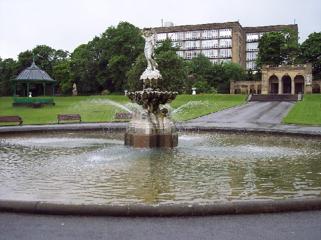 Fountain, People's Park