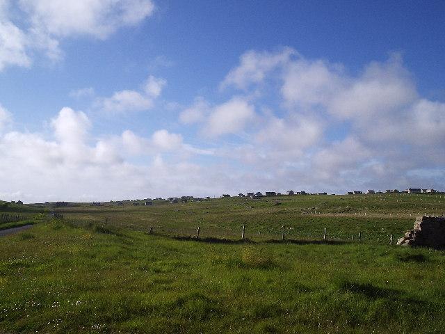 Looking north towards Pabail