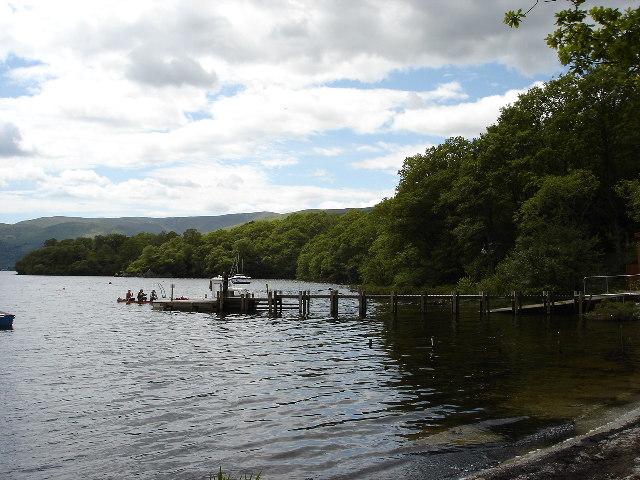 Small Pier Loch Lomond