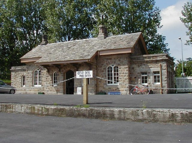 The old Bovey Railway Station