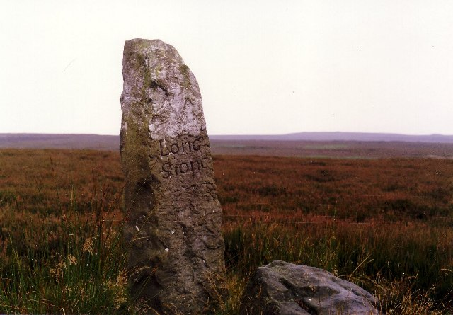 The smaller 'Long Stone'