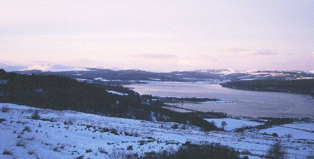 Dornoch Firth from the Struie.