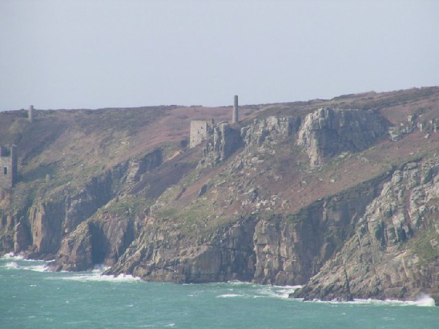 Mine Engine House East of Trewavas Head