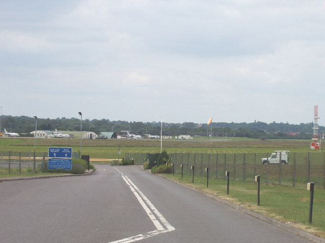 Northolt Aerodrome main entrance from West End Road