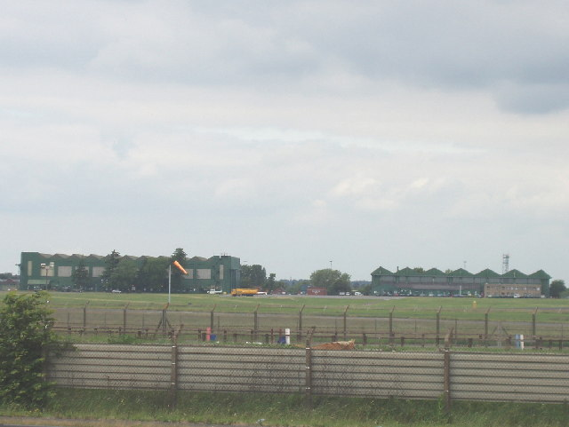 Northolt Airfield from Western Avenue