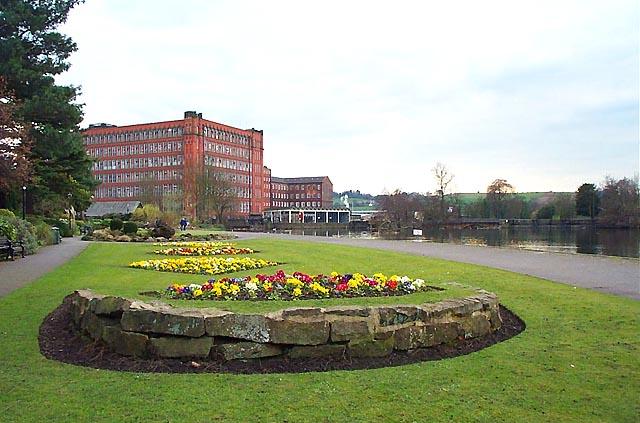 Belper North Mill & River Gardens