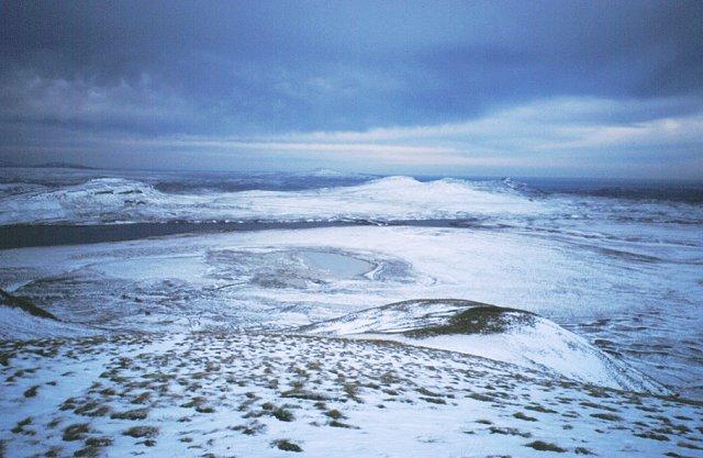 North ridge, Beinn Stumanadh