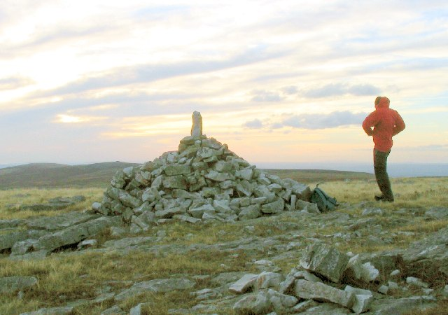 Small cairn on Garreg Fraith