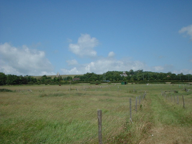 Sompting Fields and Church