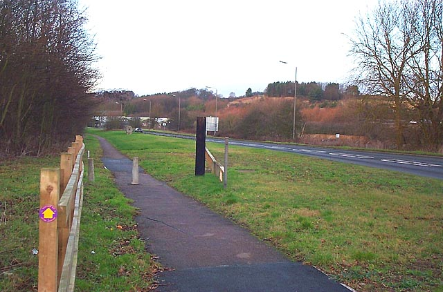 The Derwent Valley Heritage Way, Little Eaton