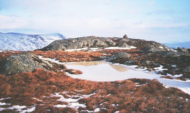 Summit, Beinn a'Mheadhoin