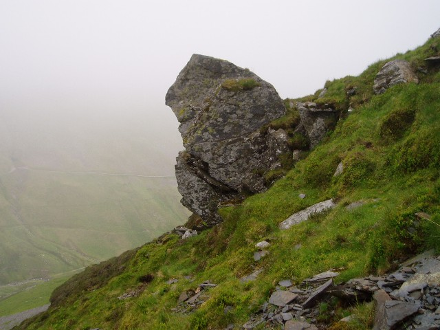 Pinnacle on the north-east buttress of Lonscale Fell
