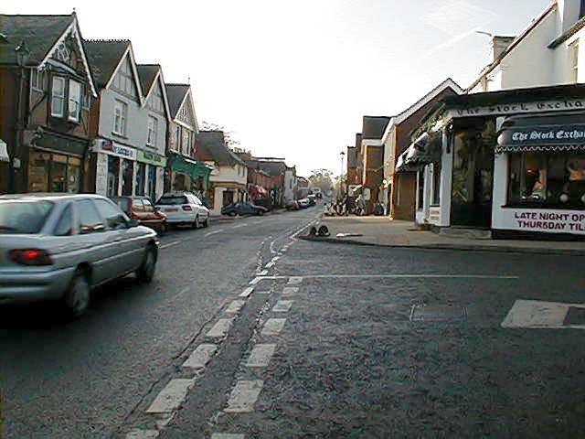 Sunninghill High Street......