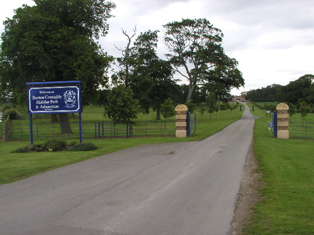 The back entrance to Burton Constable