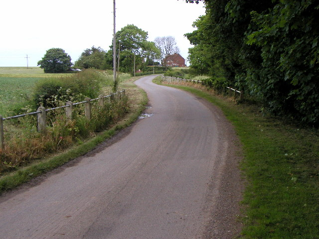 The road to West Newton