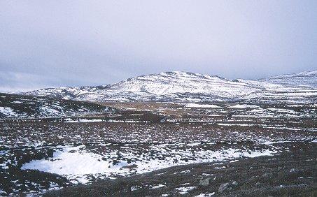 Moors below Carn Glas Coire.