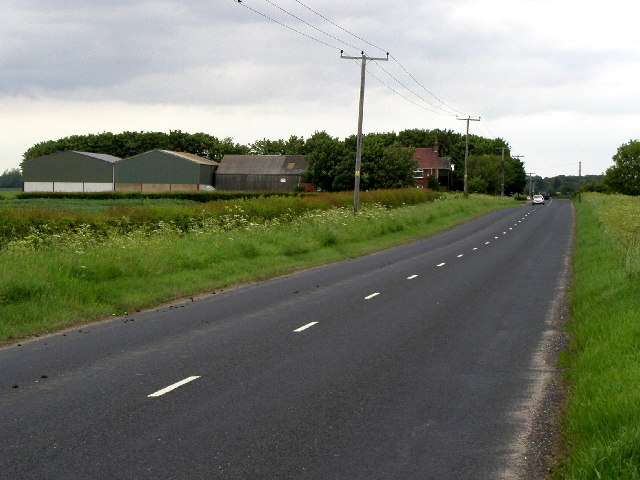 The road to Sproatley