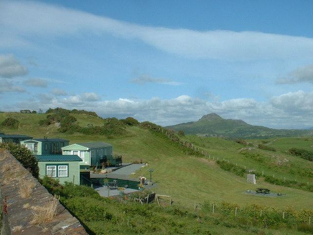 Caravan site, Criccieth