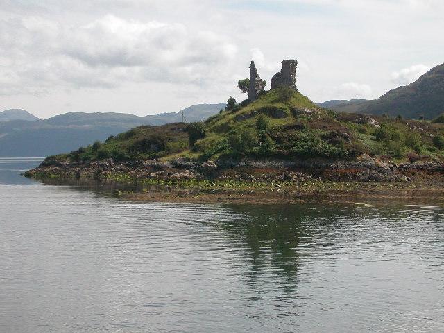 Caisteal Maol, Kyleakin, Isle of Skye.