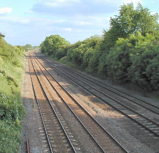 Main Line at Normanton on Soar