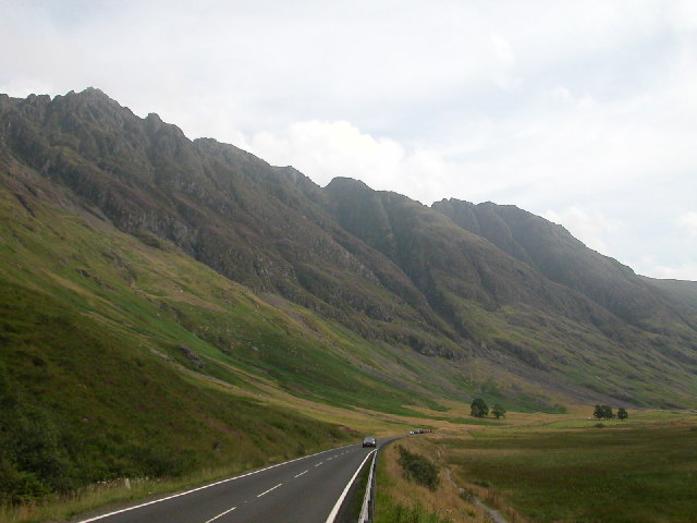 Pass of Glen Coe, Scotland.